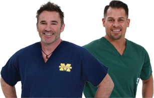 Dr. Valley and Dr. Baker